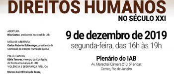 Urgência na prática eficaz de Direitos Humanos no século XXI_site